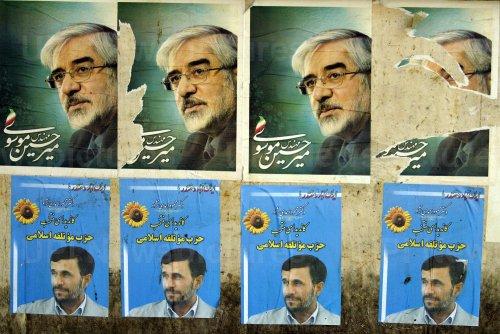 Iran's presidential election in Tehran