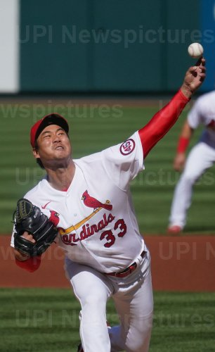 St. Louis Cardinals Starting Pitcher Kwang Hyun Kim