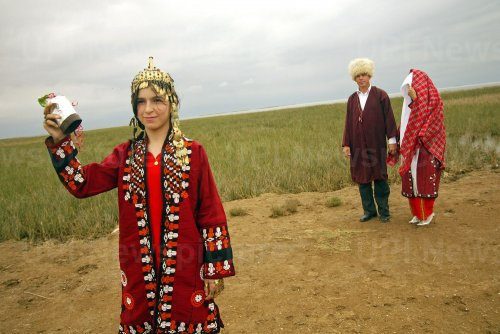 Traditional wedding ceremony in Iran