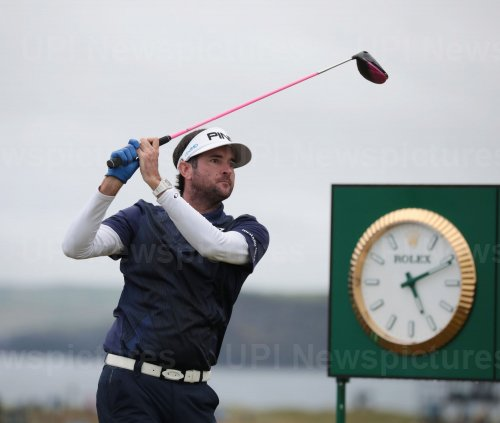 Bubba Watson on the 2nd day of the Open Championship at Royal Portrush
