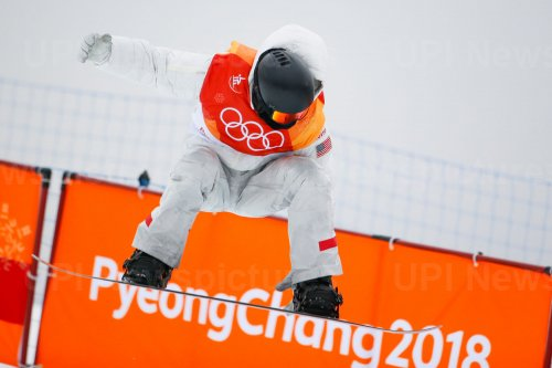 Shaun White in Men's Halfpipe finals at Pyeongchang 2018 Winter Olympics