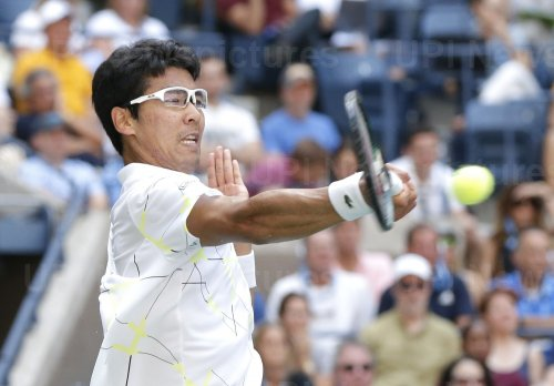 Chung Hyeon of South Korea at the US Open