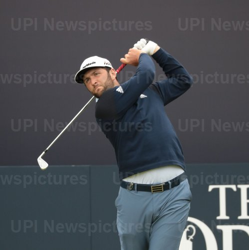 John Rahm on the 3rd day of the Open Championship at Royal Portrush