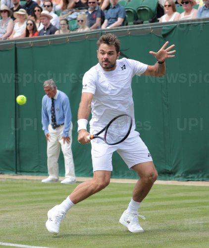 Stan Wawrinka in Second round match against Reilly Opelka