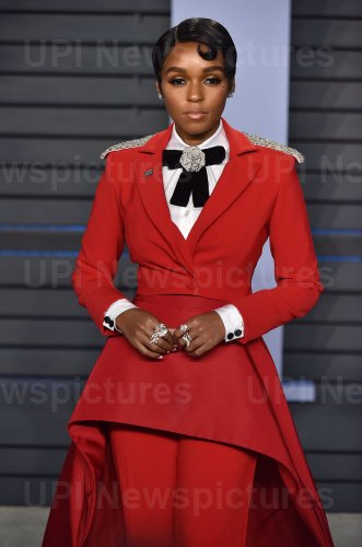 Janelle Monae attends the Vanity Fair Oscar Party in Beverly Hills