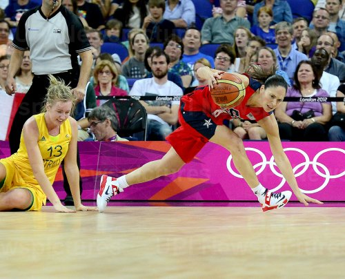 Women's Basketball Semifinal at the London 2012 Summer Olympics
