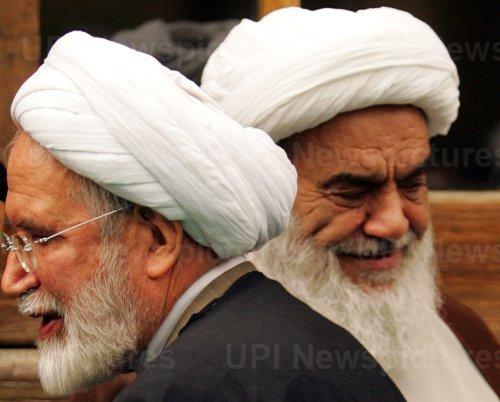 Iran's former Parliament speaker Mahdi Karroubi visits Isfahan city during his presidential campaign tour