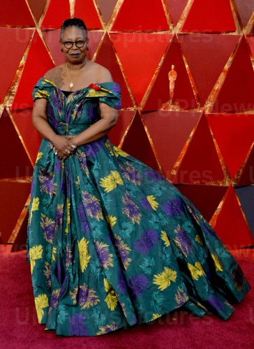 Whoopi Godlberg arrives for the 90th annual Academy Awards in Hollywood